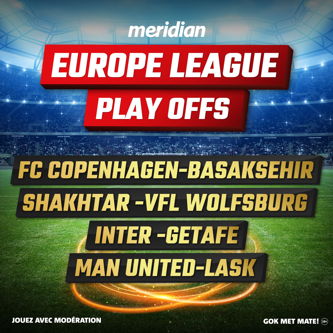 Meridianbet Europa league play offs
